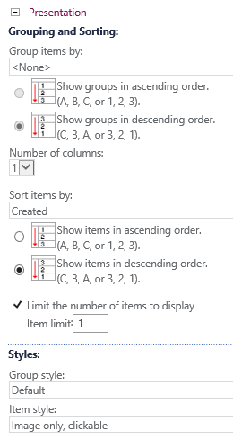 content query settings3