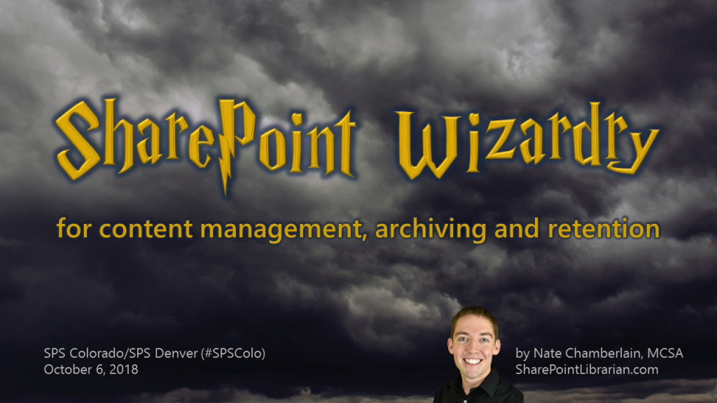 Content Wizardry 2018